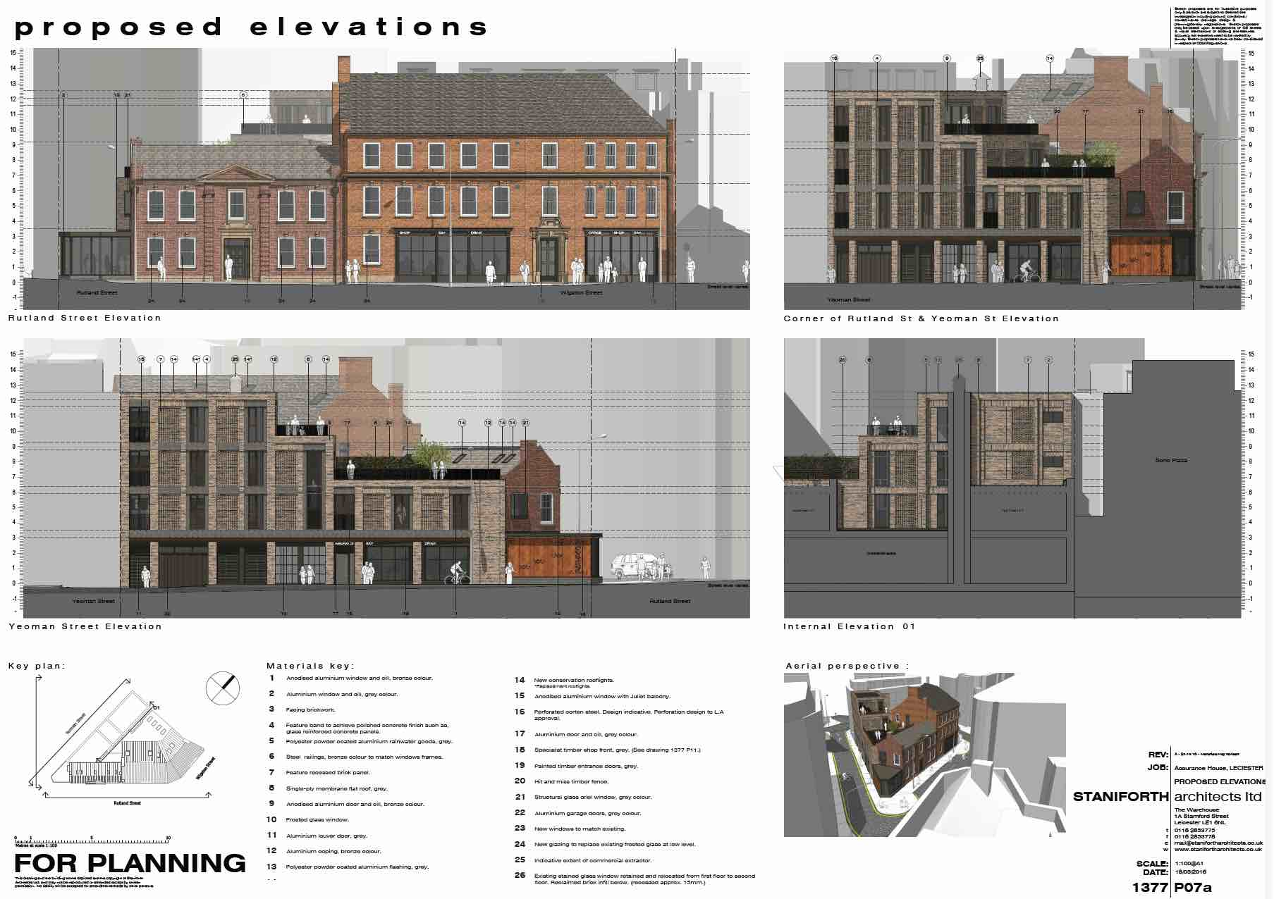 The Goliath Group development Proposed Site Elevation